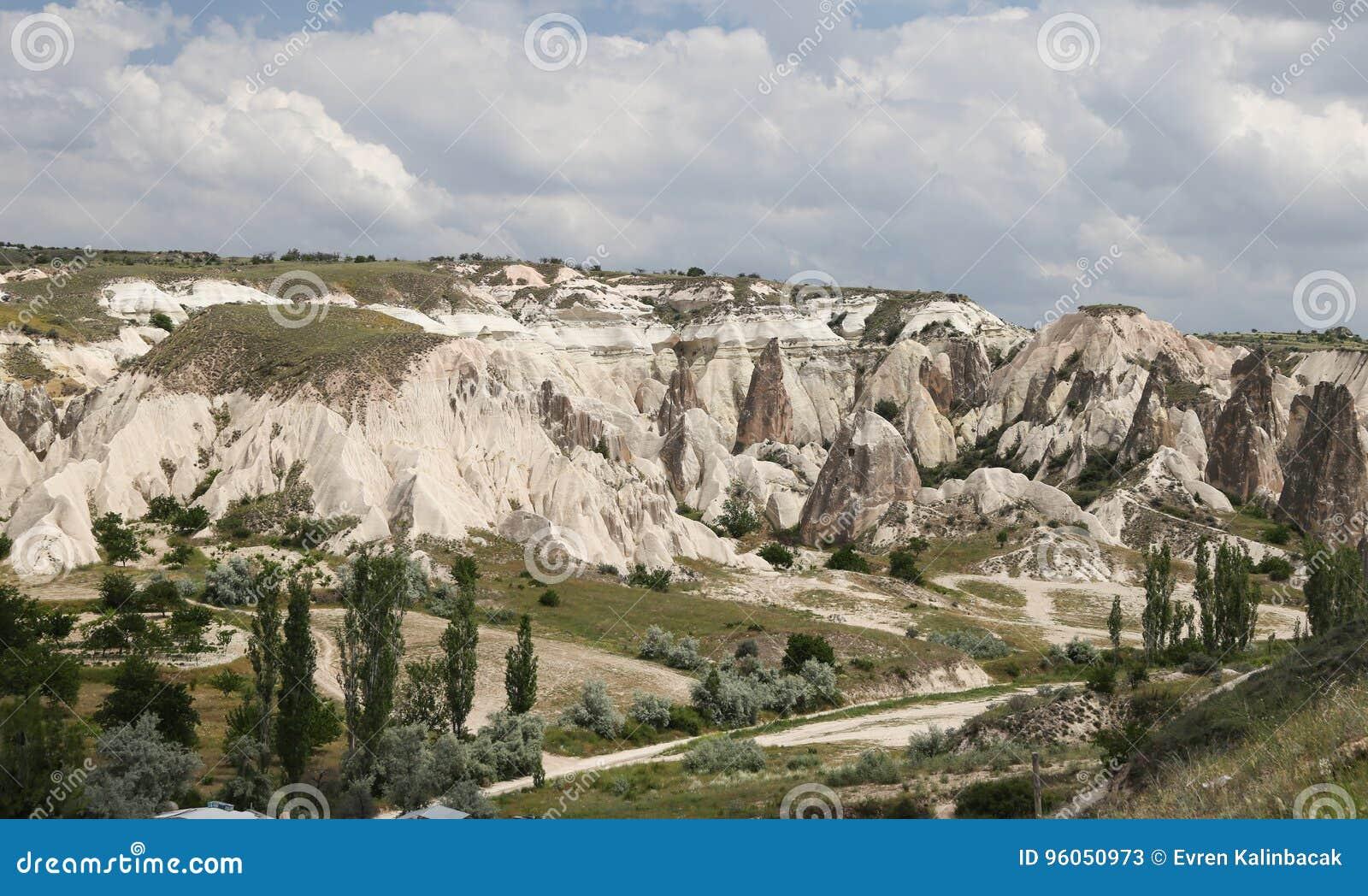 Vue de Cappadocia en Turquie