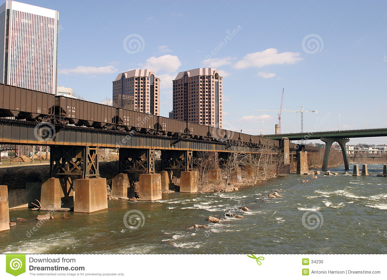 Vue de fleuve