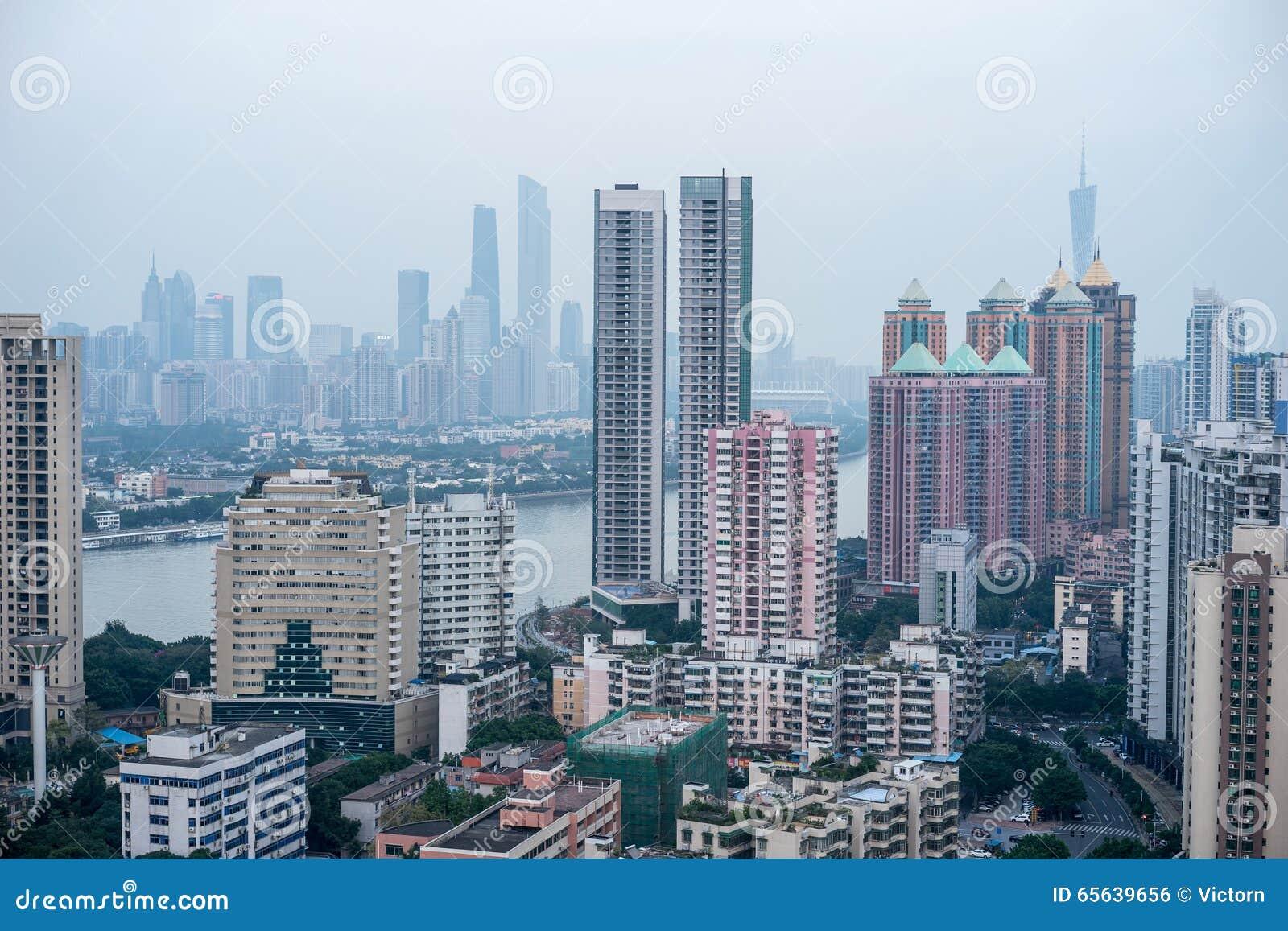 Vue de Guangzhou CBD