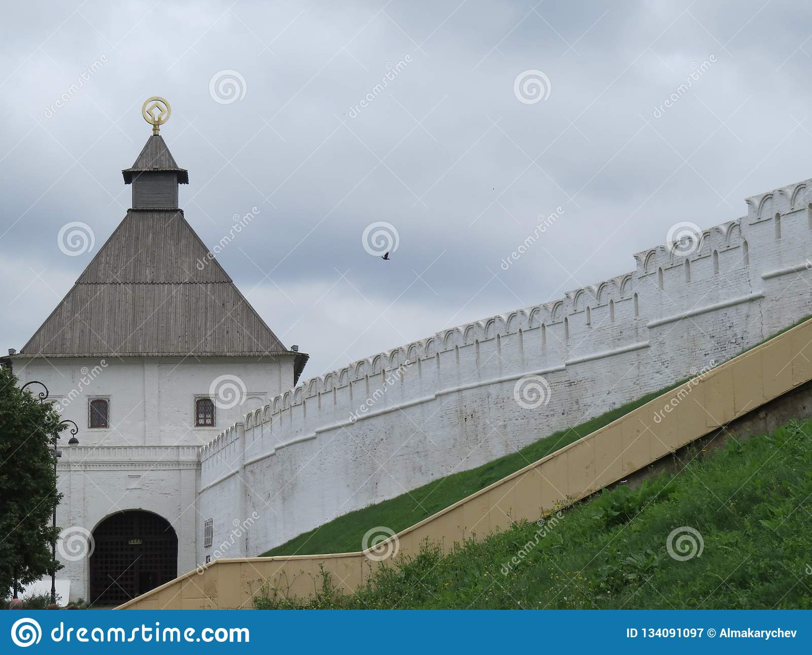 Vue de Kazan Kremlin Kazan, Russie