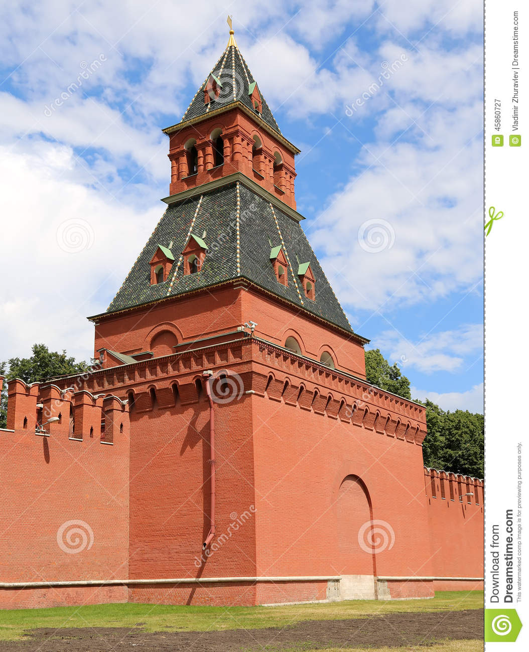 Photo stock: vue de kremlin-- la russie, moscou