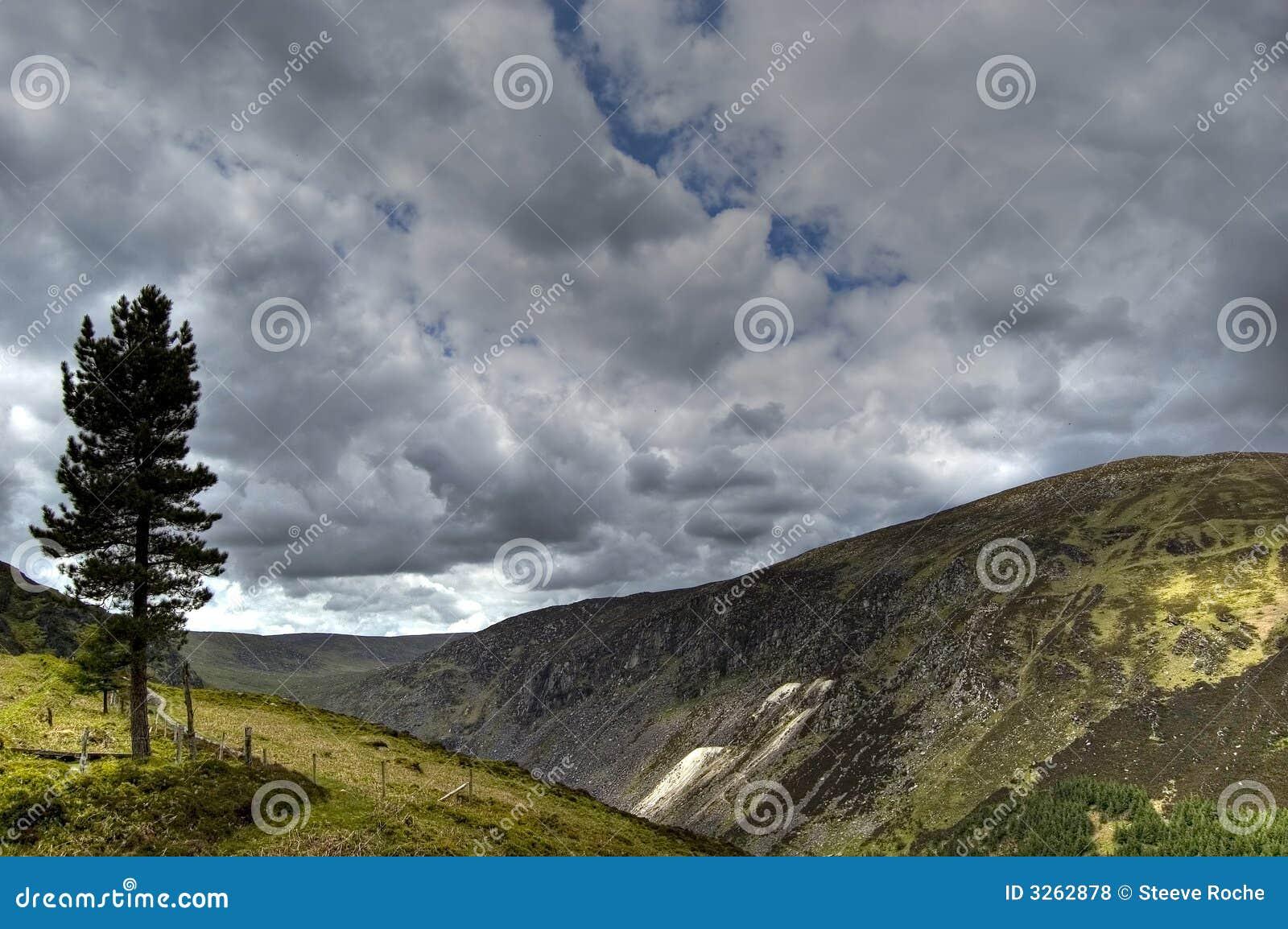 Vue de lac supérieur. l Irlande