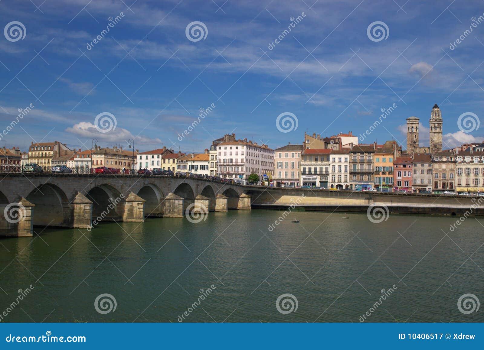 Vue de Macon le Rhône