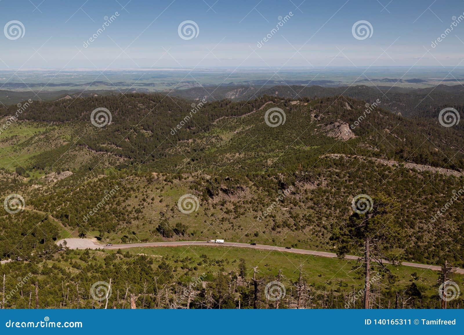 Vue de Mt Surveillance de Coolidge