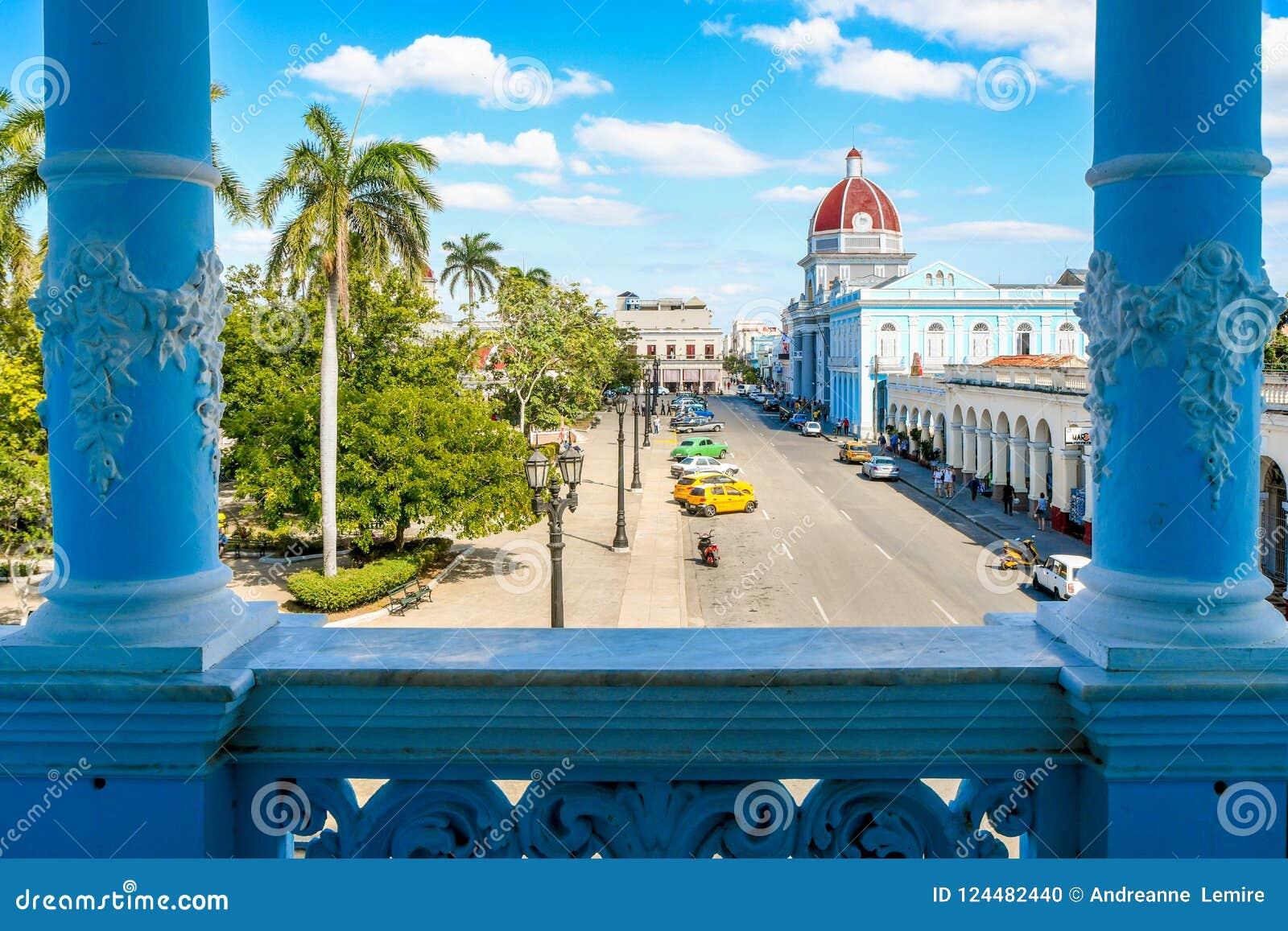Vue de palais de Ferrer, Cienfuegos, Cuba
