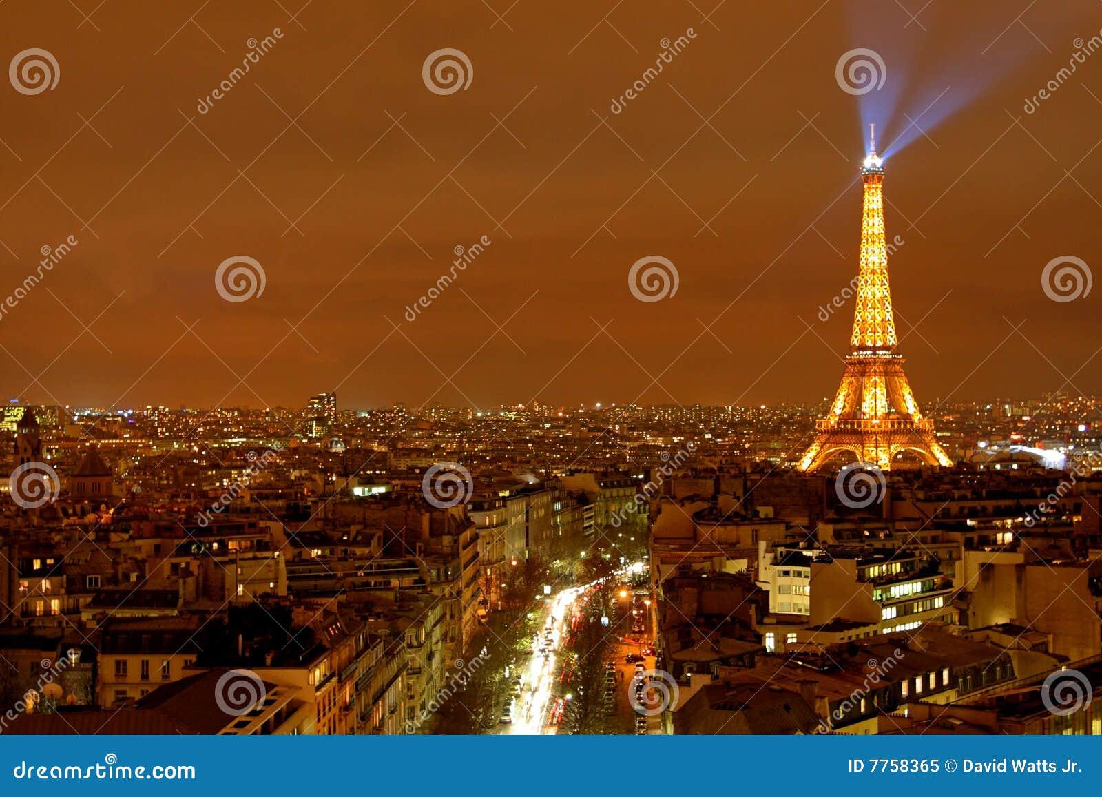 Vue de Paris de ville