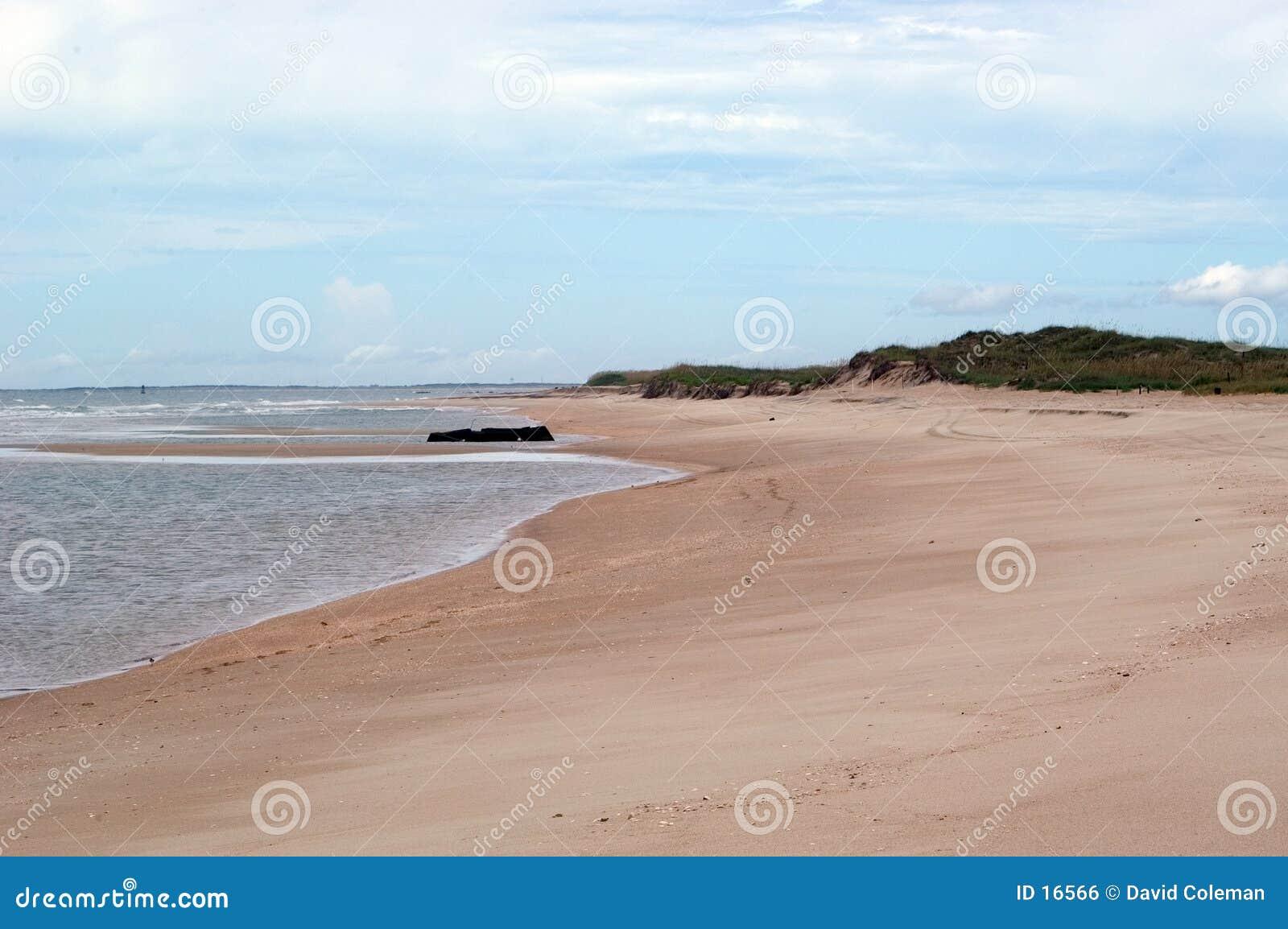 Vue de plage