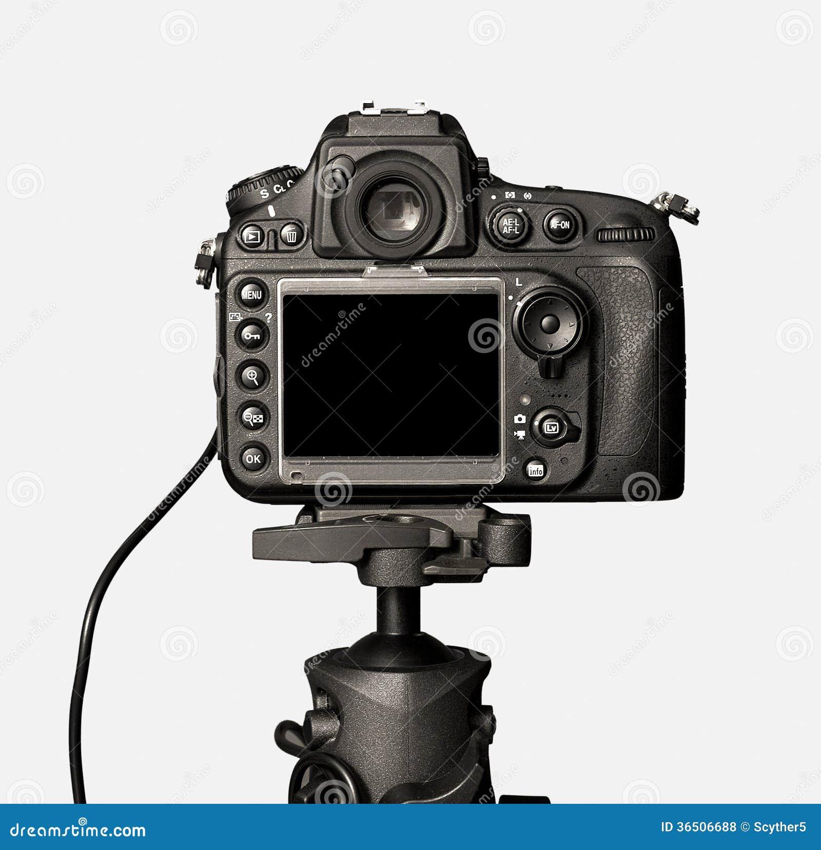Vue de plan rapproché d appareil photo numérique