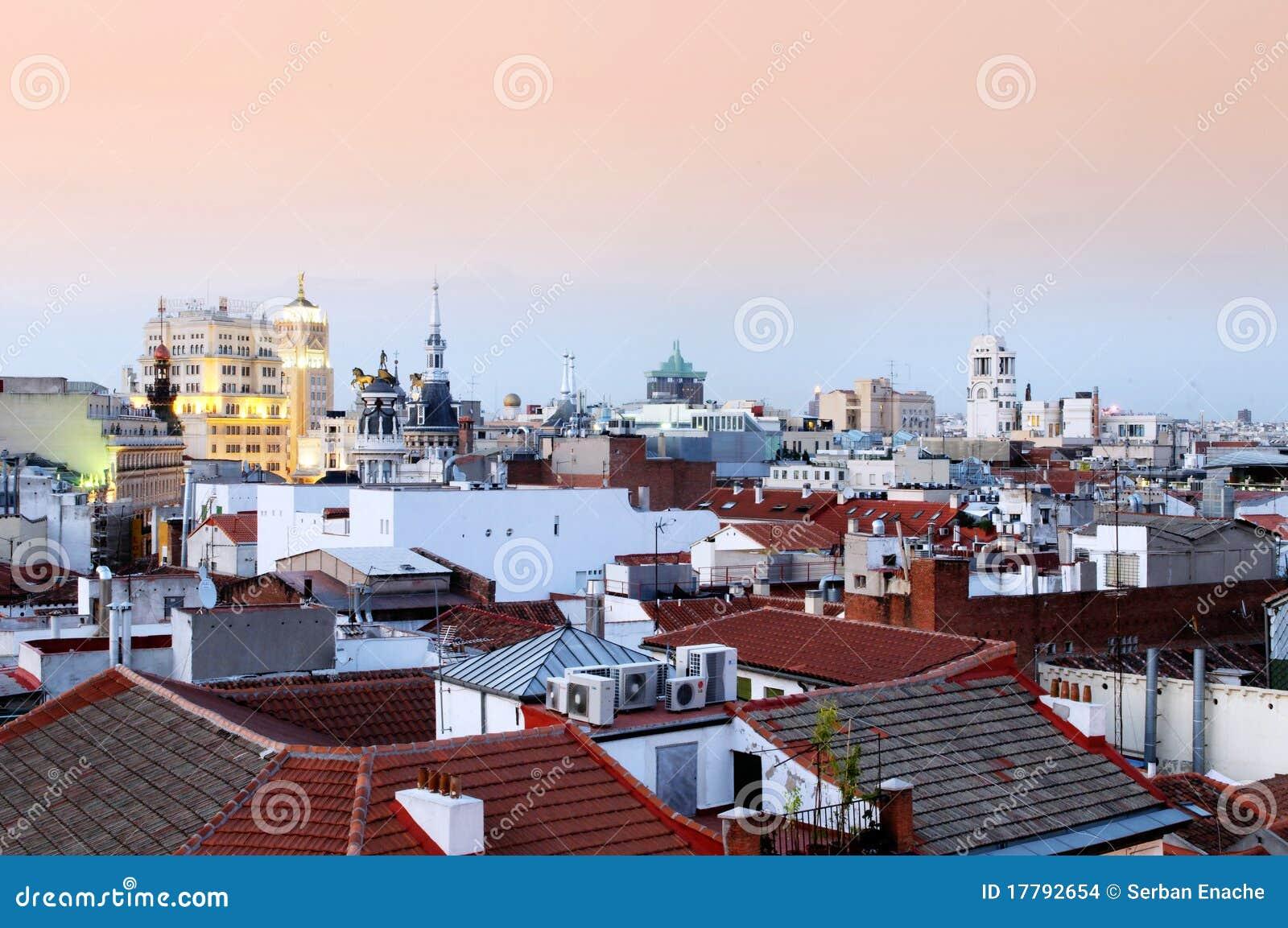 Vue de Santa Ana de plaza