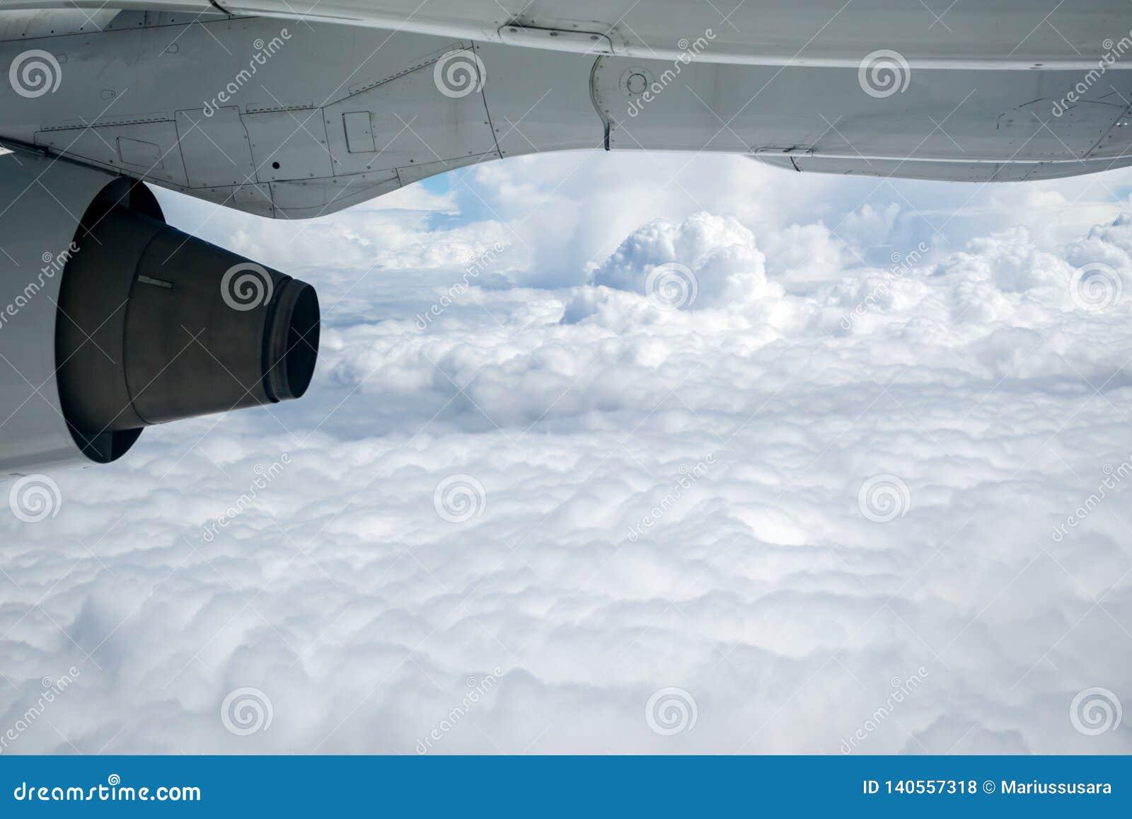 Vue de siège fenêtre d avion