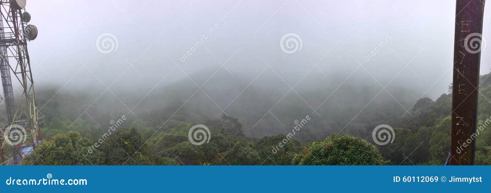 Vue de sommet - Gunung Brinchang