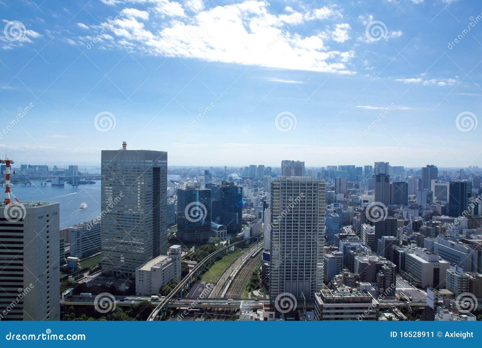 Vue de Tokyo de World Trade Center