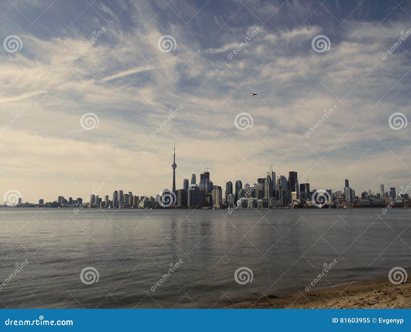 Vue de Toronto d île