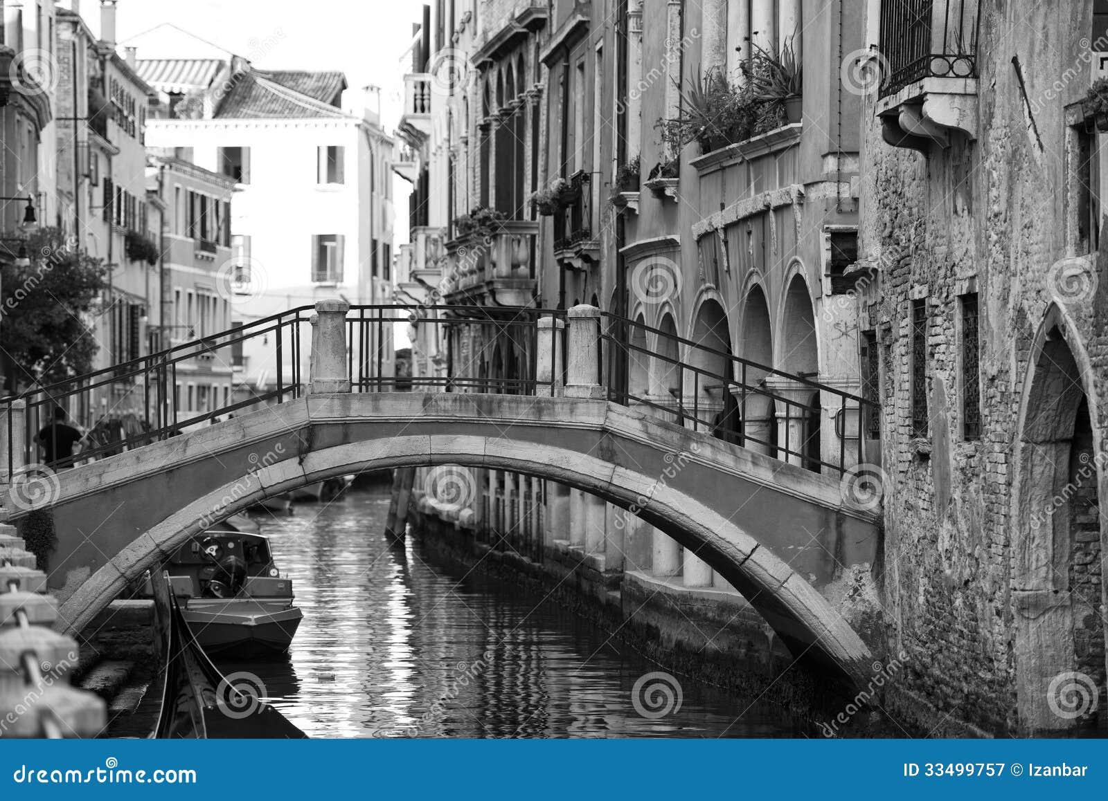 Черно белые фото венеция