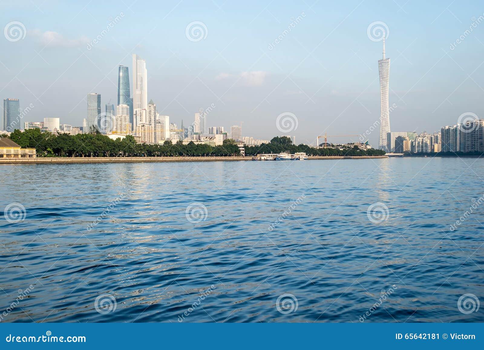 Vue de ville de Guangzhou