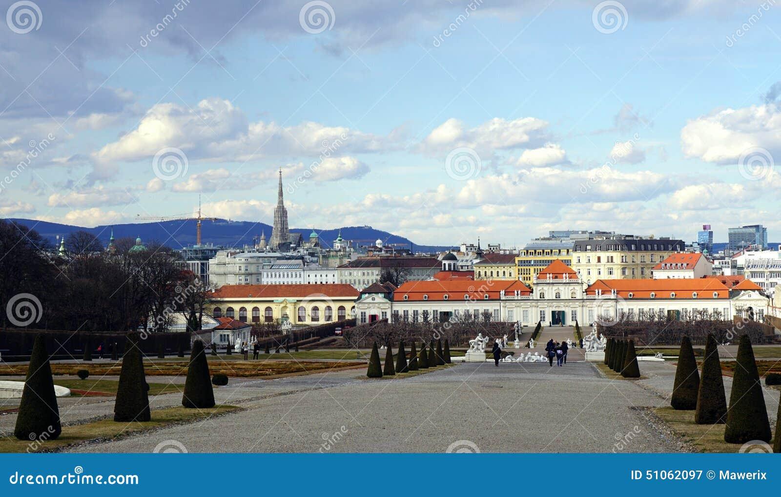 Vue de ville de Vienne