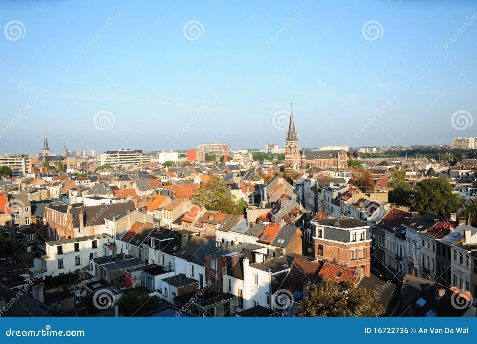 Vue de Zurenborg, Anvers