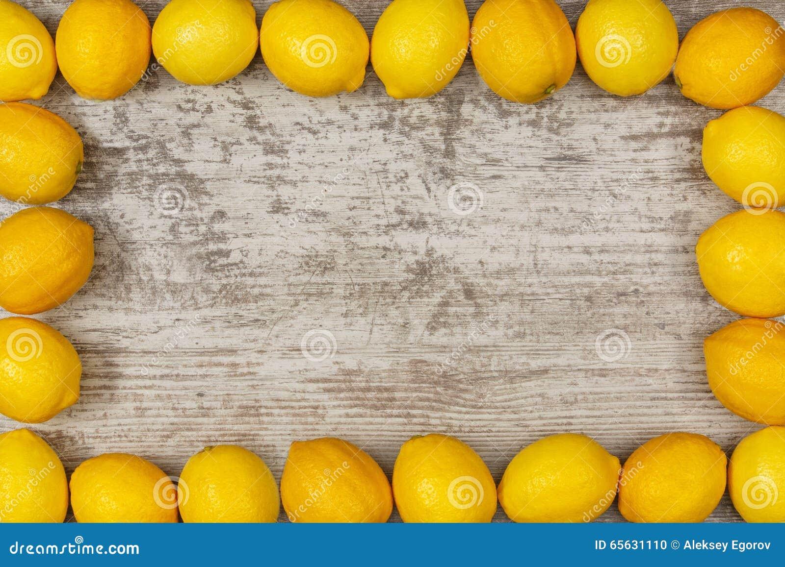 Vue des citrons