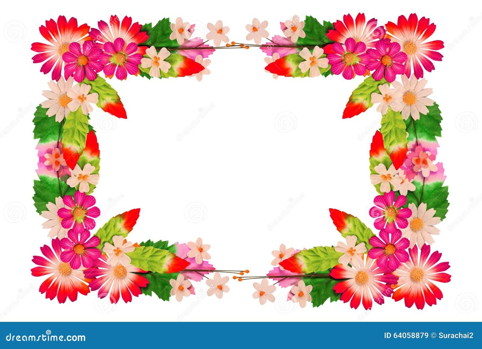 Vue des fleurs faites de papier coloré