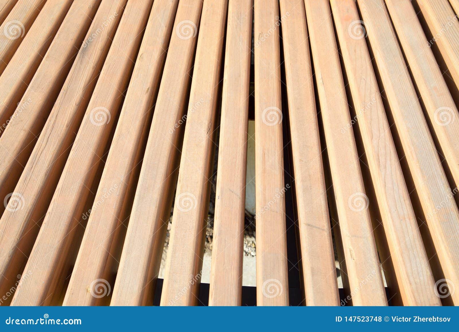 Vue des panneaux de brun clair