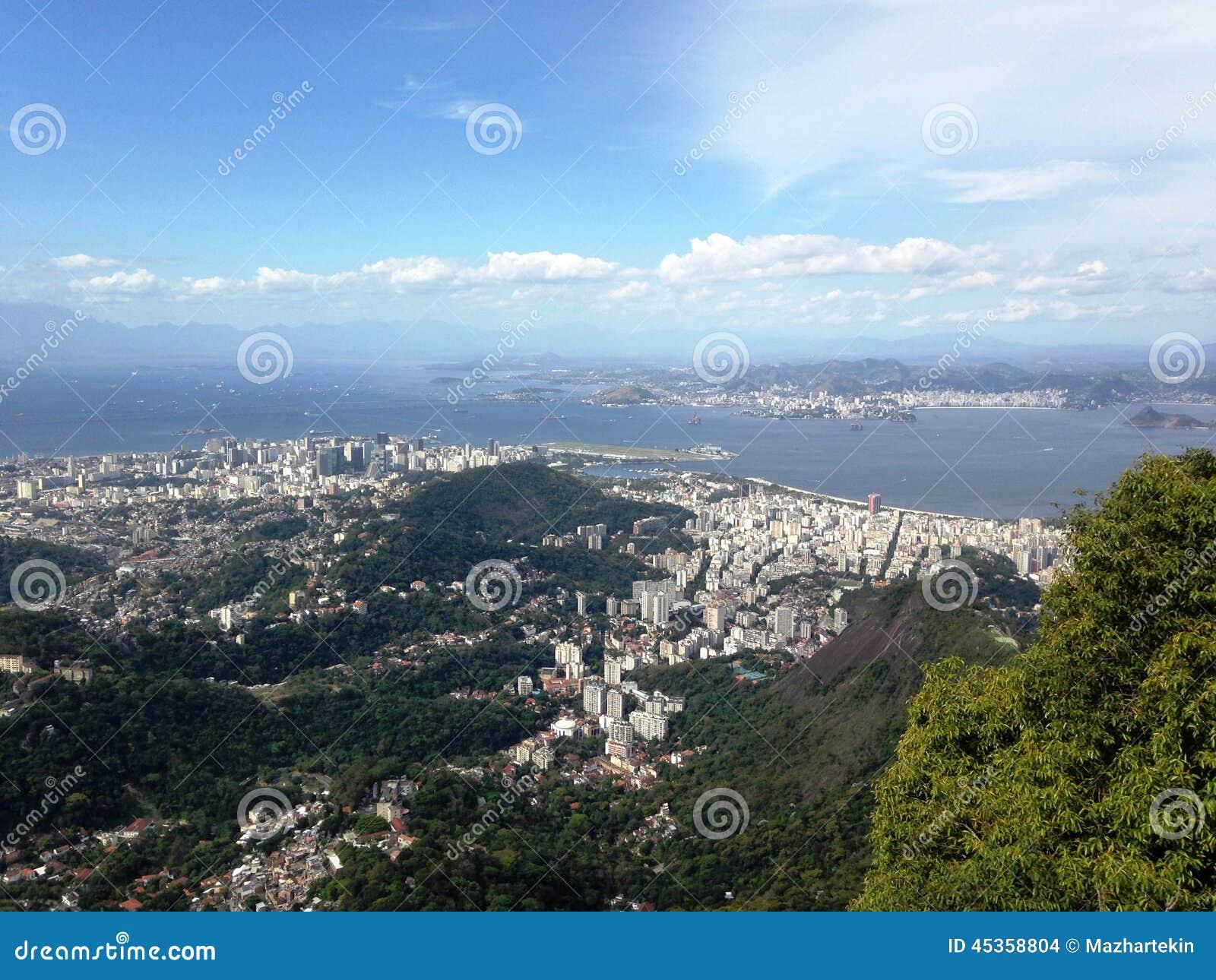 Vue du Brésil Rio
