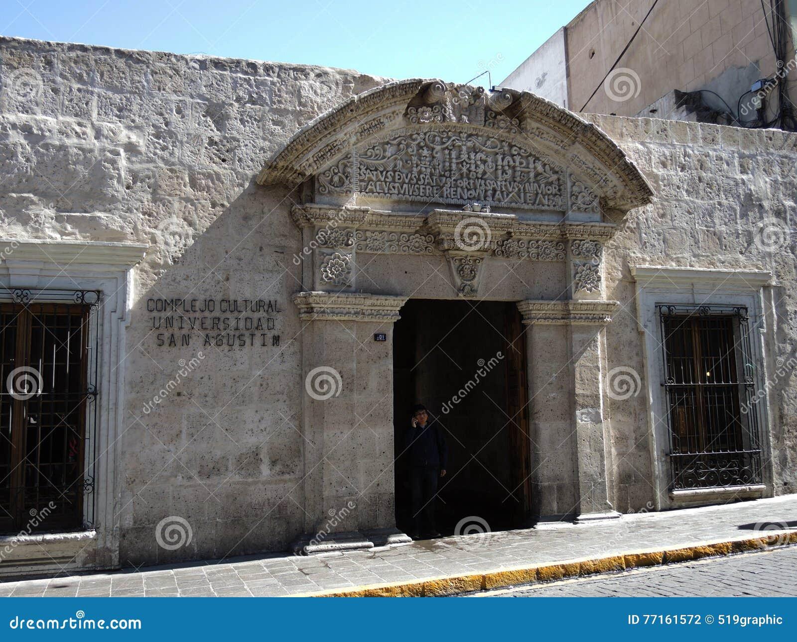 Vue du colonial du centre, Arequipa, Pérou