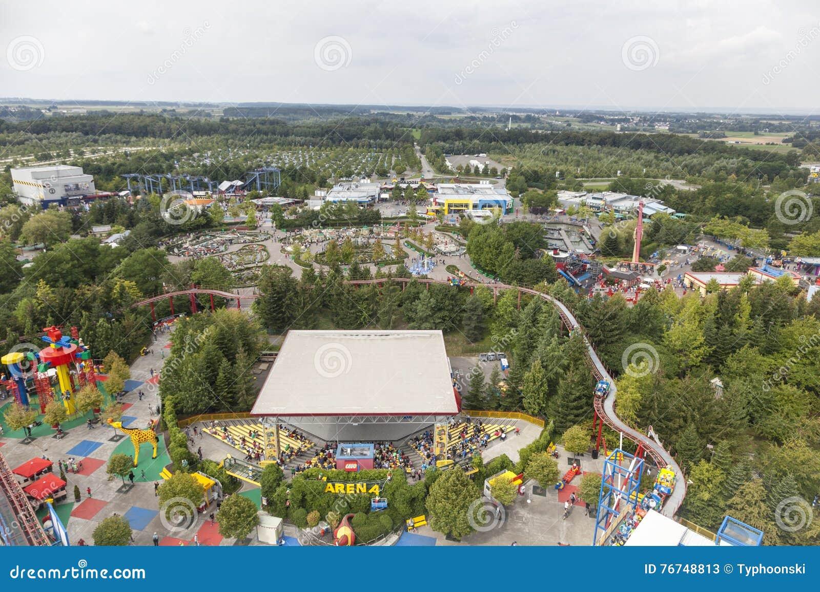 Carte Legoland Allemagne.Vue Du Legoland Allemagne Photo Stock Editorial Image Du