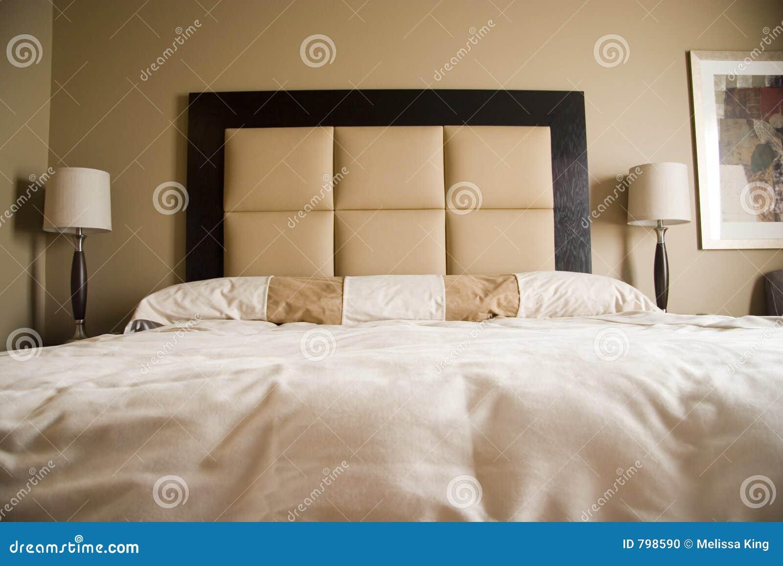 Vue intérieure de chambre à coucher