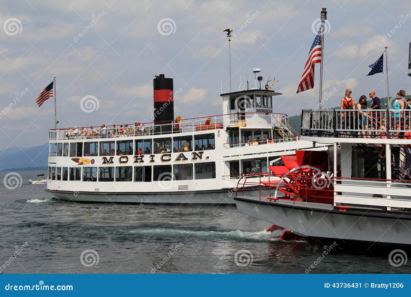 Vue magnifique des bateaux vapeur du mohican et du minne c l bres ha ha lac george new york - Nettoyeurs de sols et vapeur ...