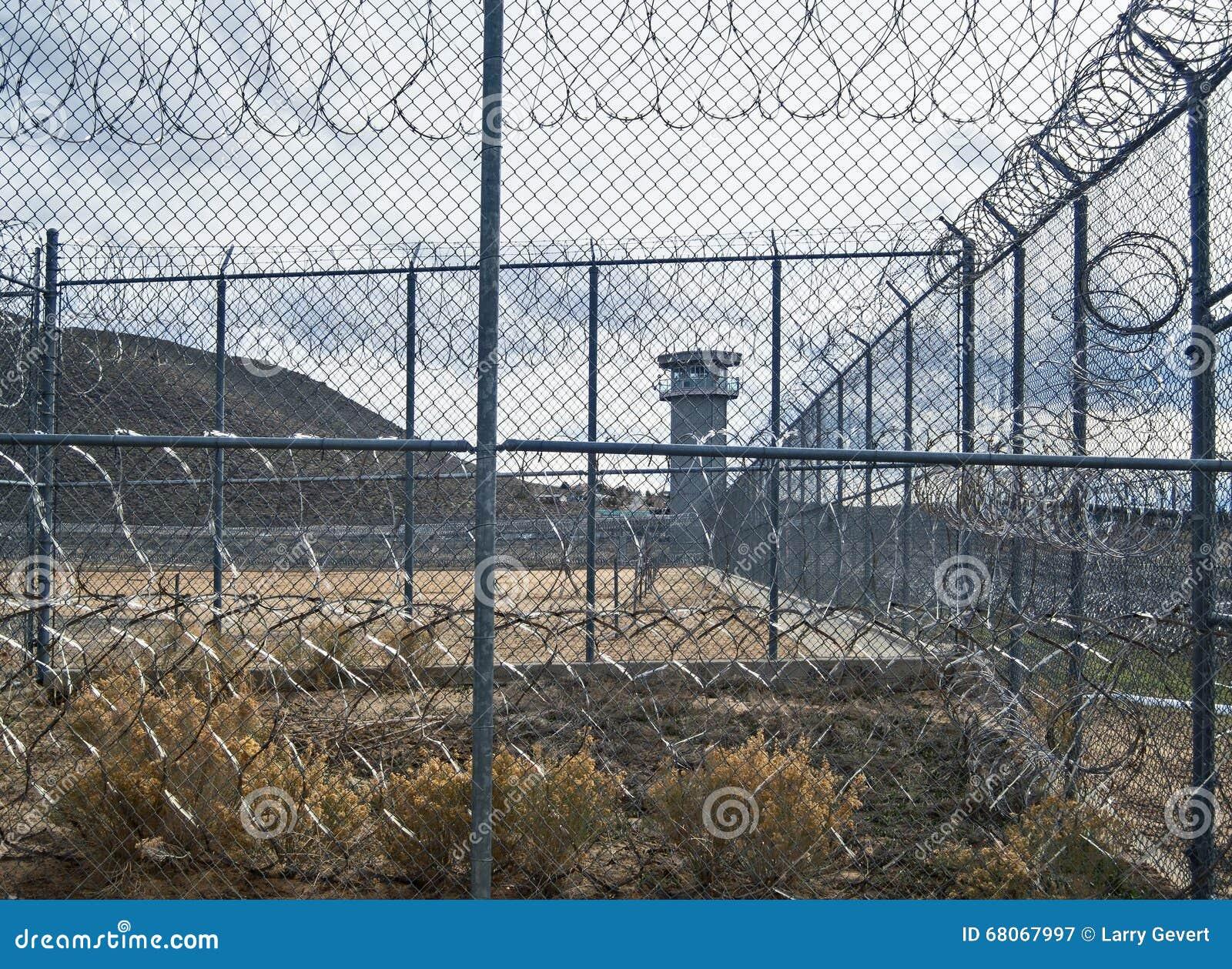Vue mystérieuse, Nevada State Prison historique, Carson City