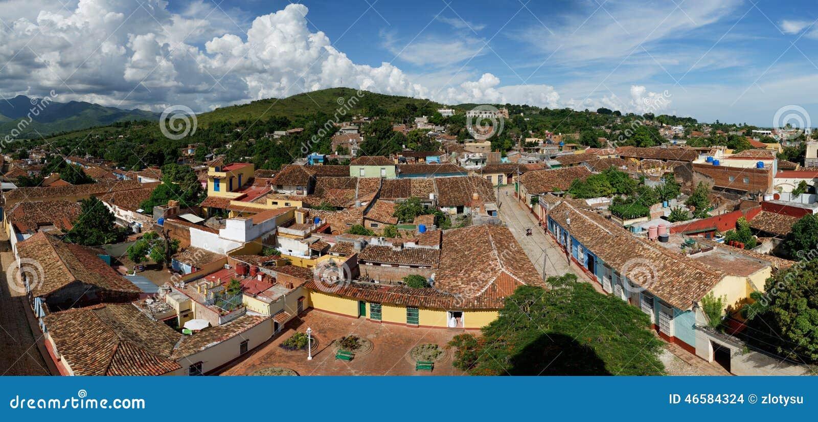 Vue panoramique de Trinidad de Cuba