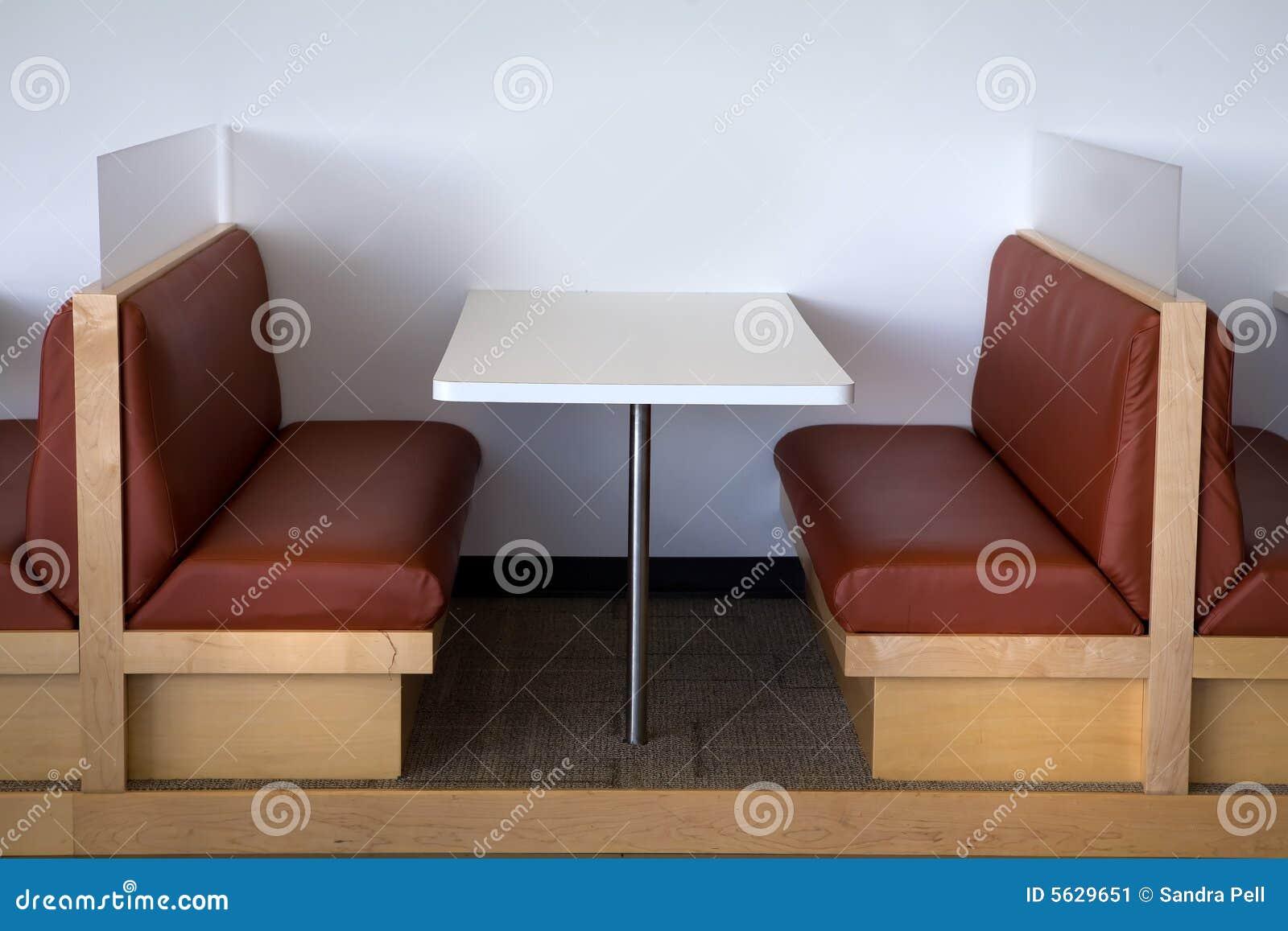 Vue propre de lunchroom moderne de bureau image stock image du