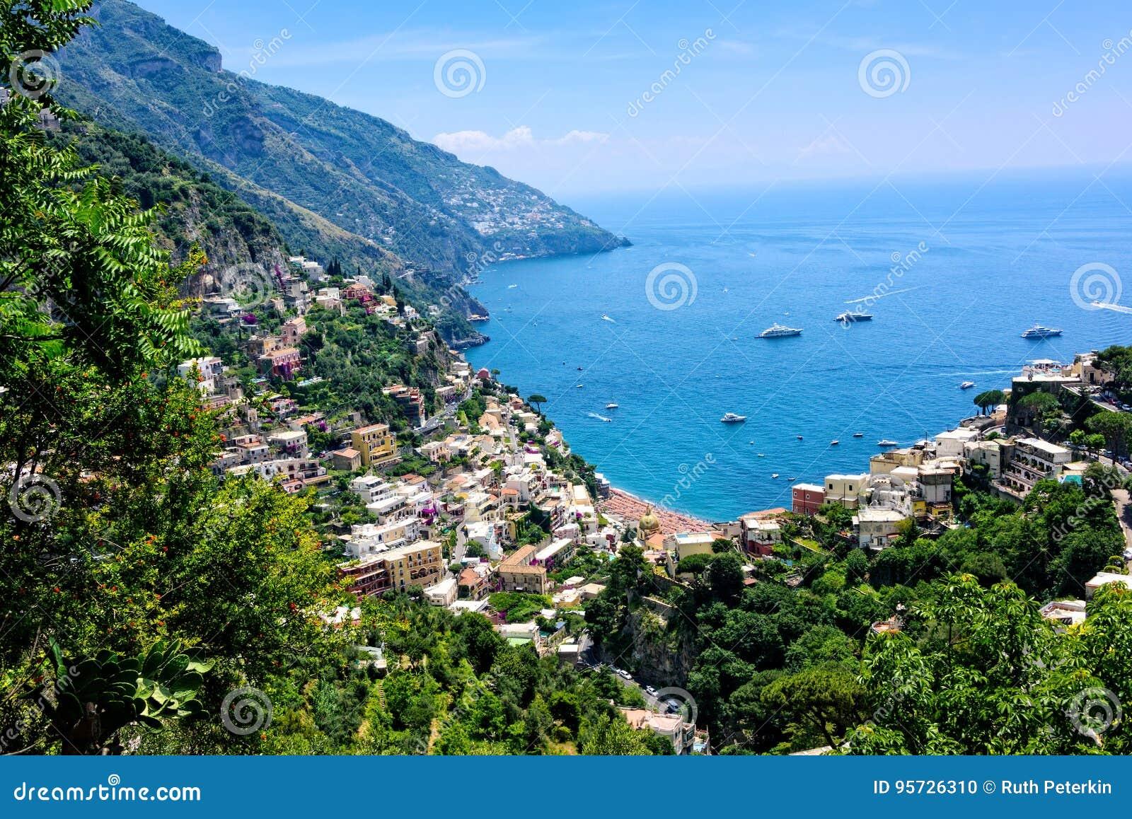 Vue scénique de littoral d Amalfi