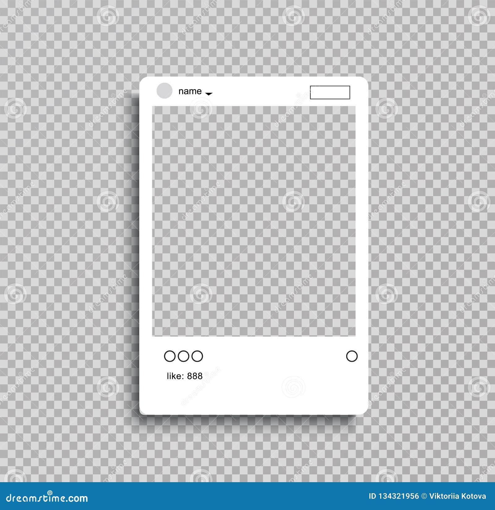Vue sociale de courrier de réseau pour votre photo fond transperent Illustration de vecteur - Le fichier du vecteur
