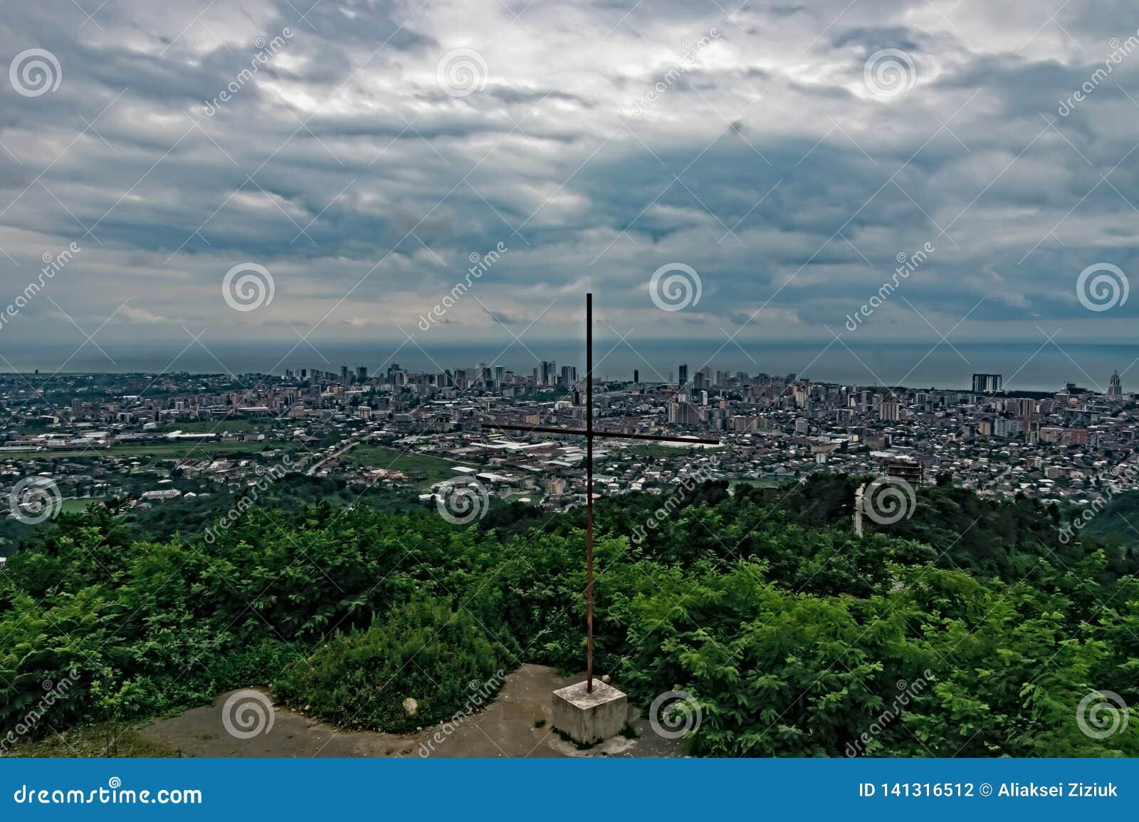 Vue supérieure de Georgia Batumi