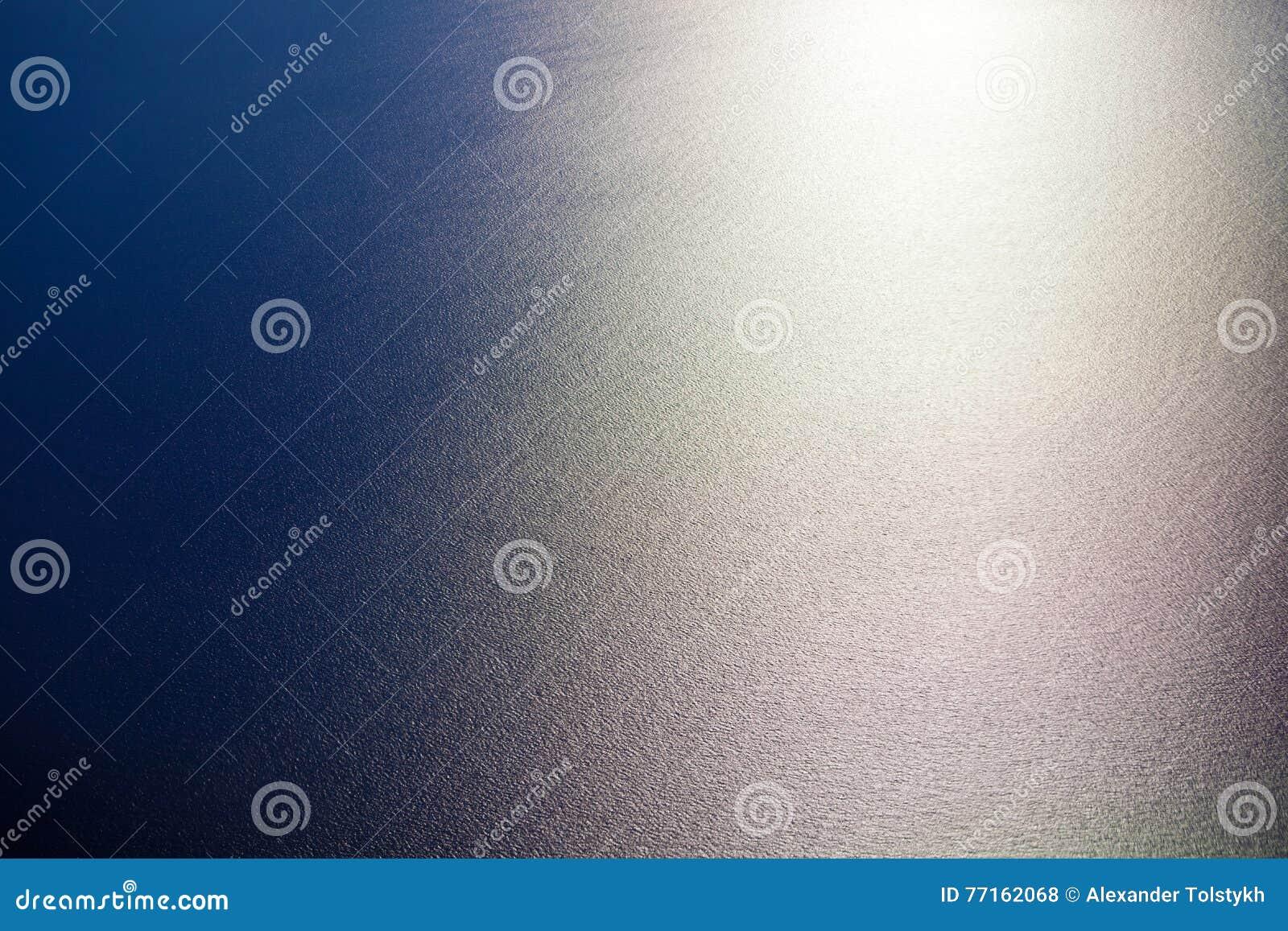 Vue supérieure de surface de mer de l eau