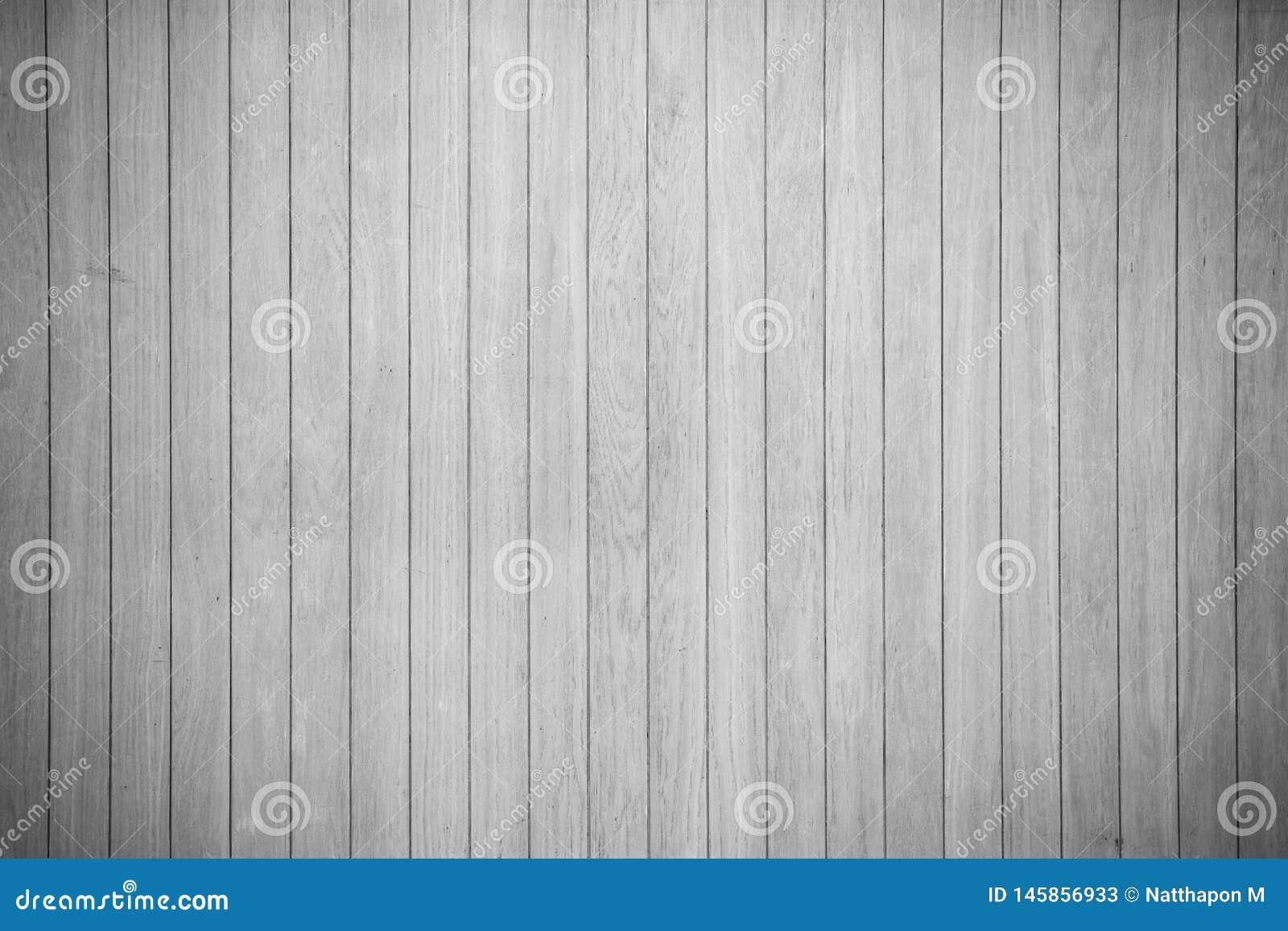 Vue supérieure propre de table de texure de fond en bois blanc de plancher