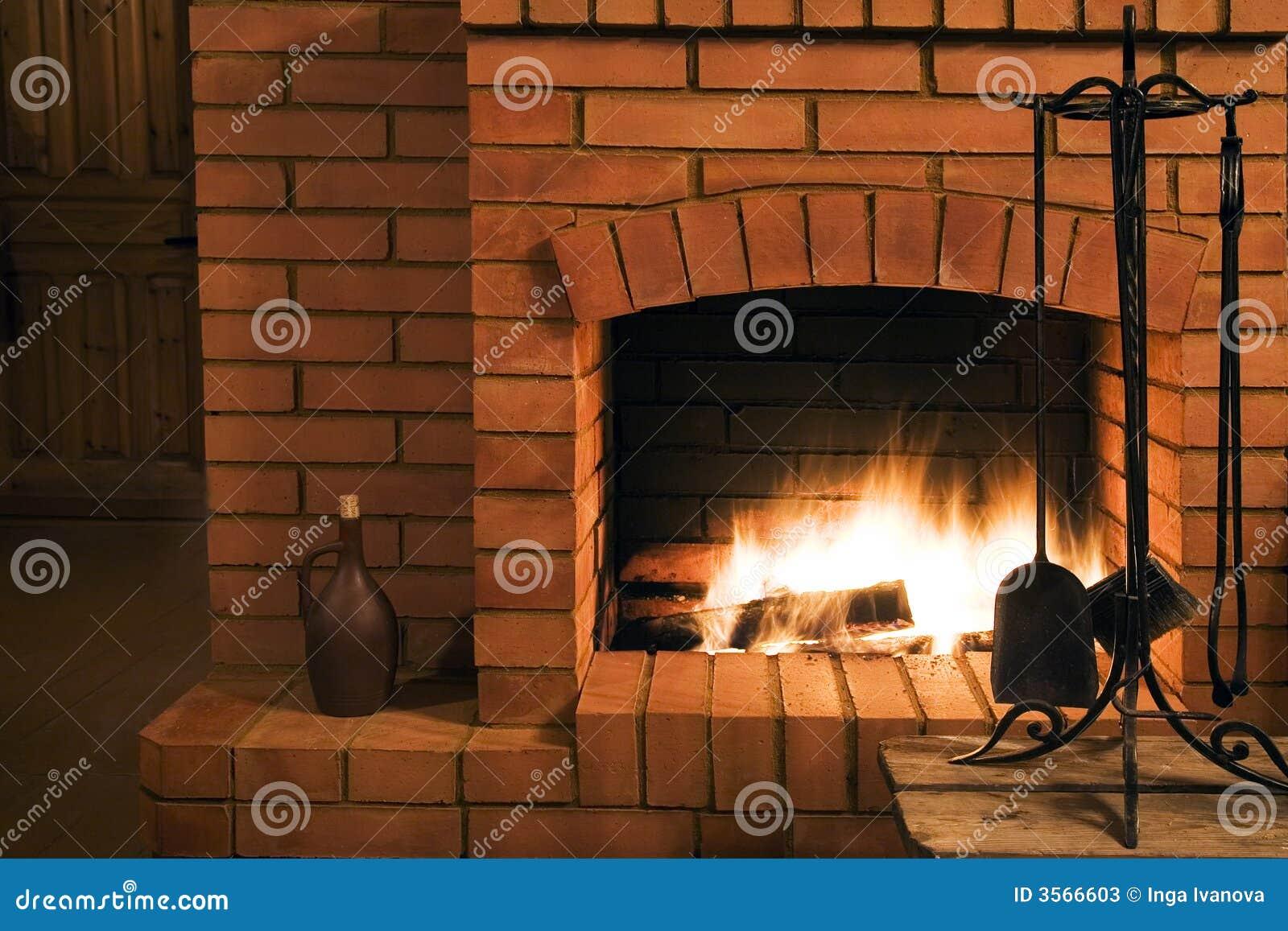 Vue sur une cheminée