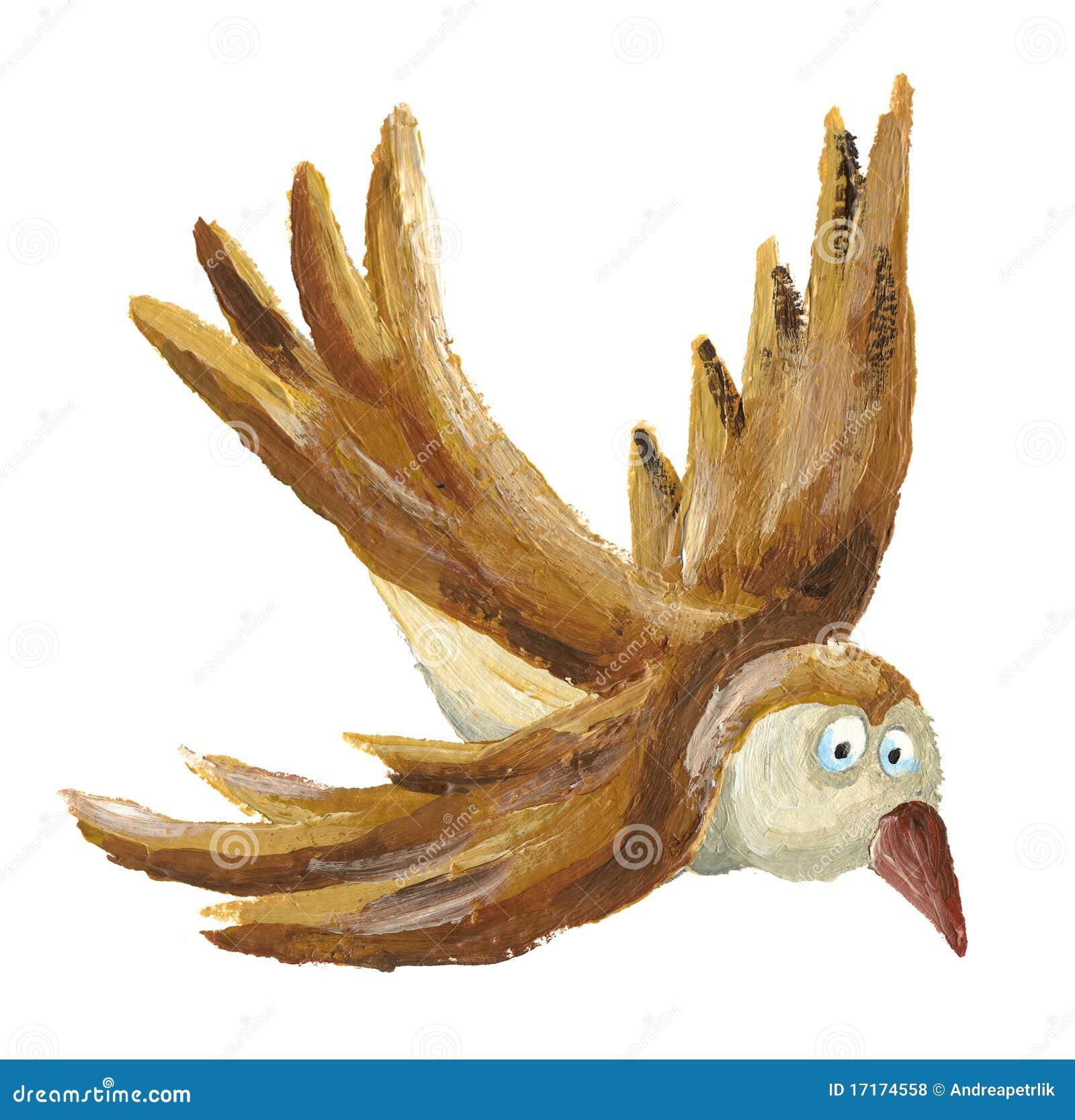 Vuelo del pájaro de Brown