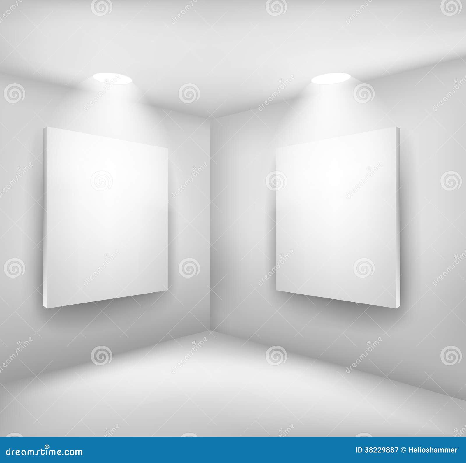 Vues dans la chambre vide illustration de vecteur image for Chambre vide