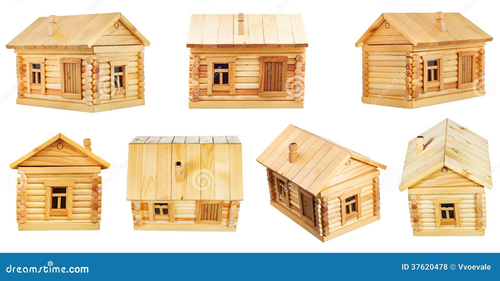 Vues de cabane en rondins en bois de village photos libres for Destockage cabane en bois