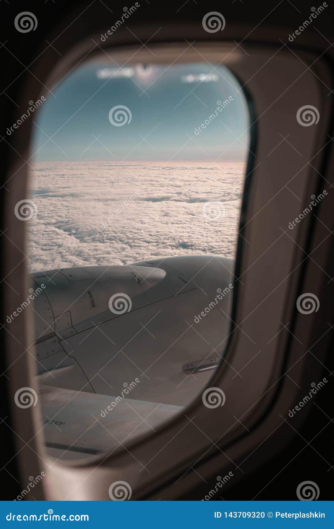 Vues de la fenêtre plate