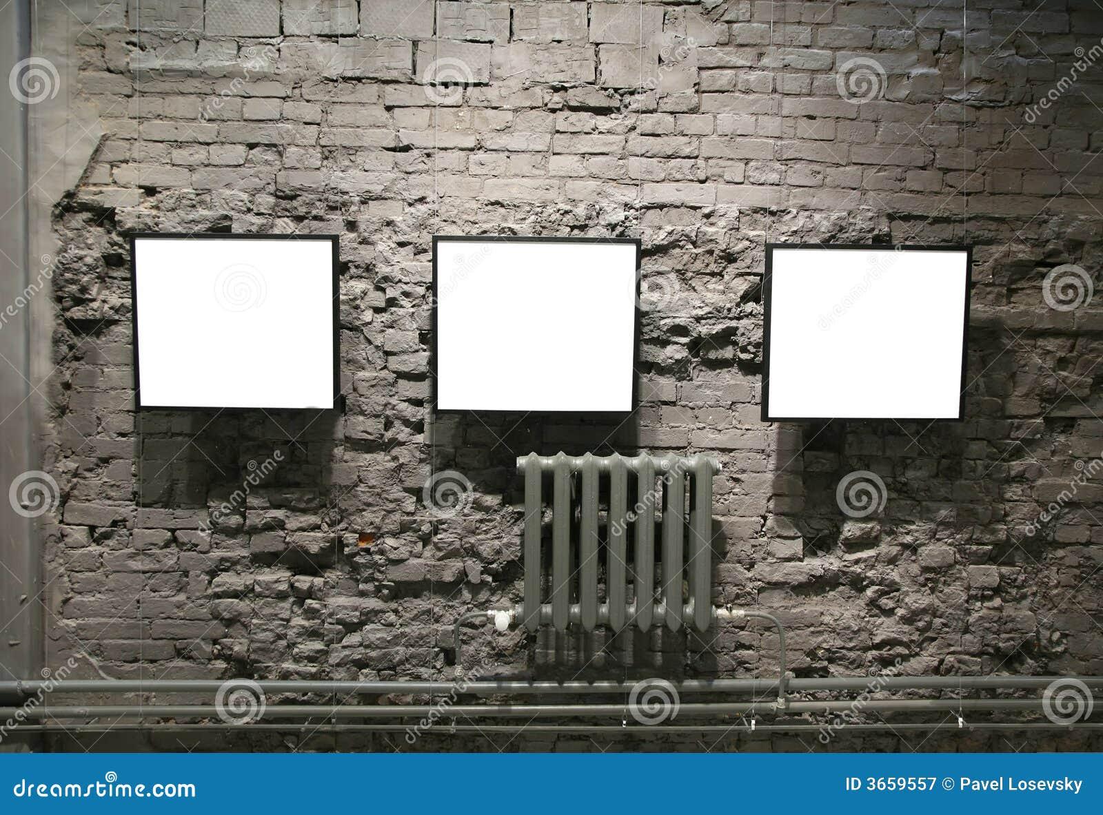 Vues sur le mur de briques