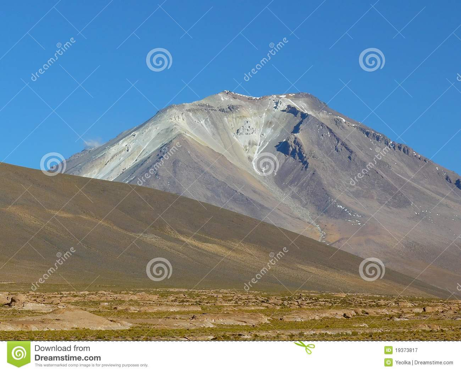 Vulcão Ollaque, Altiplano, Bolívia