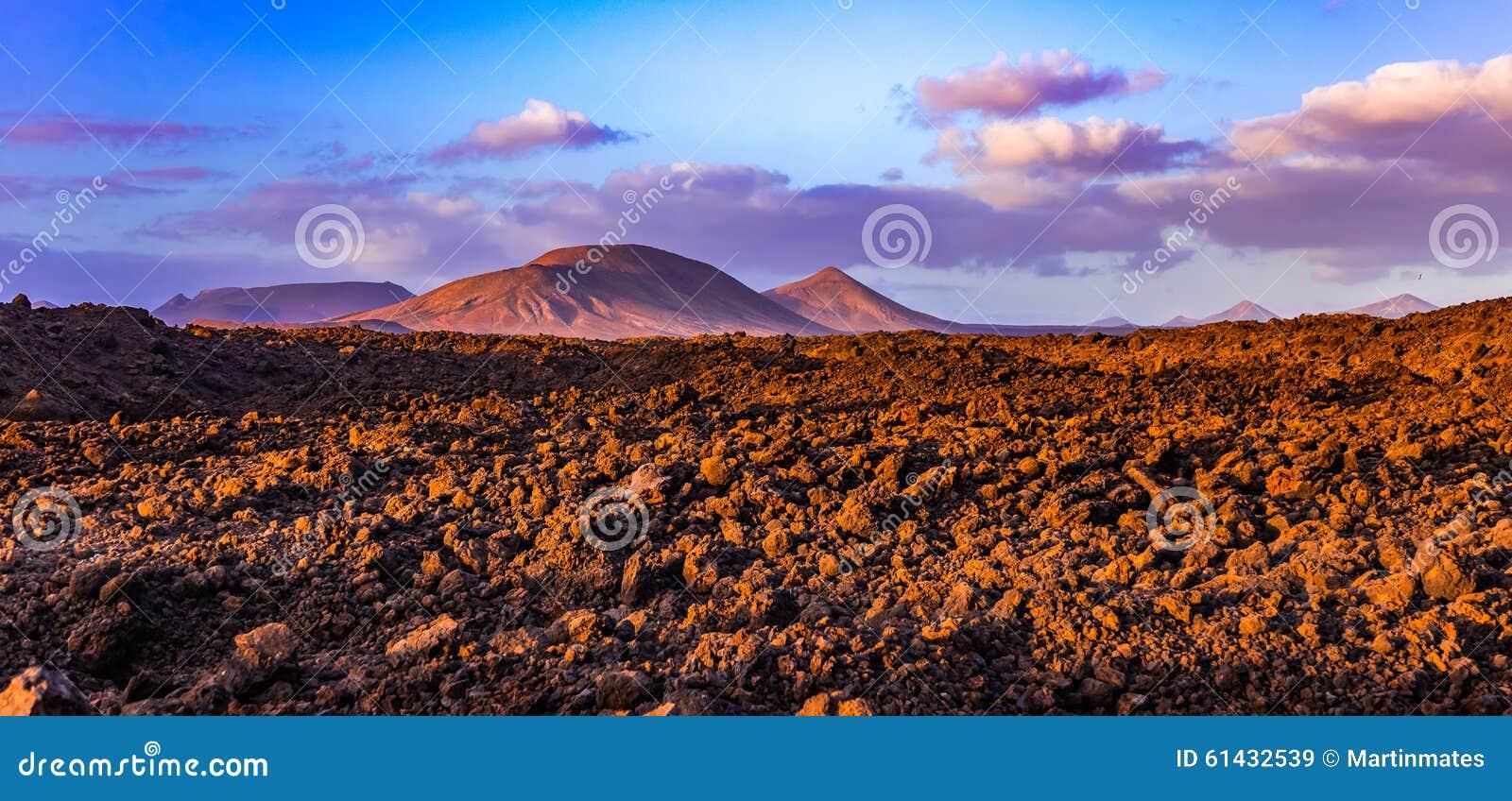 Vulcanes van Lanzarote