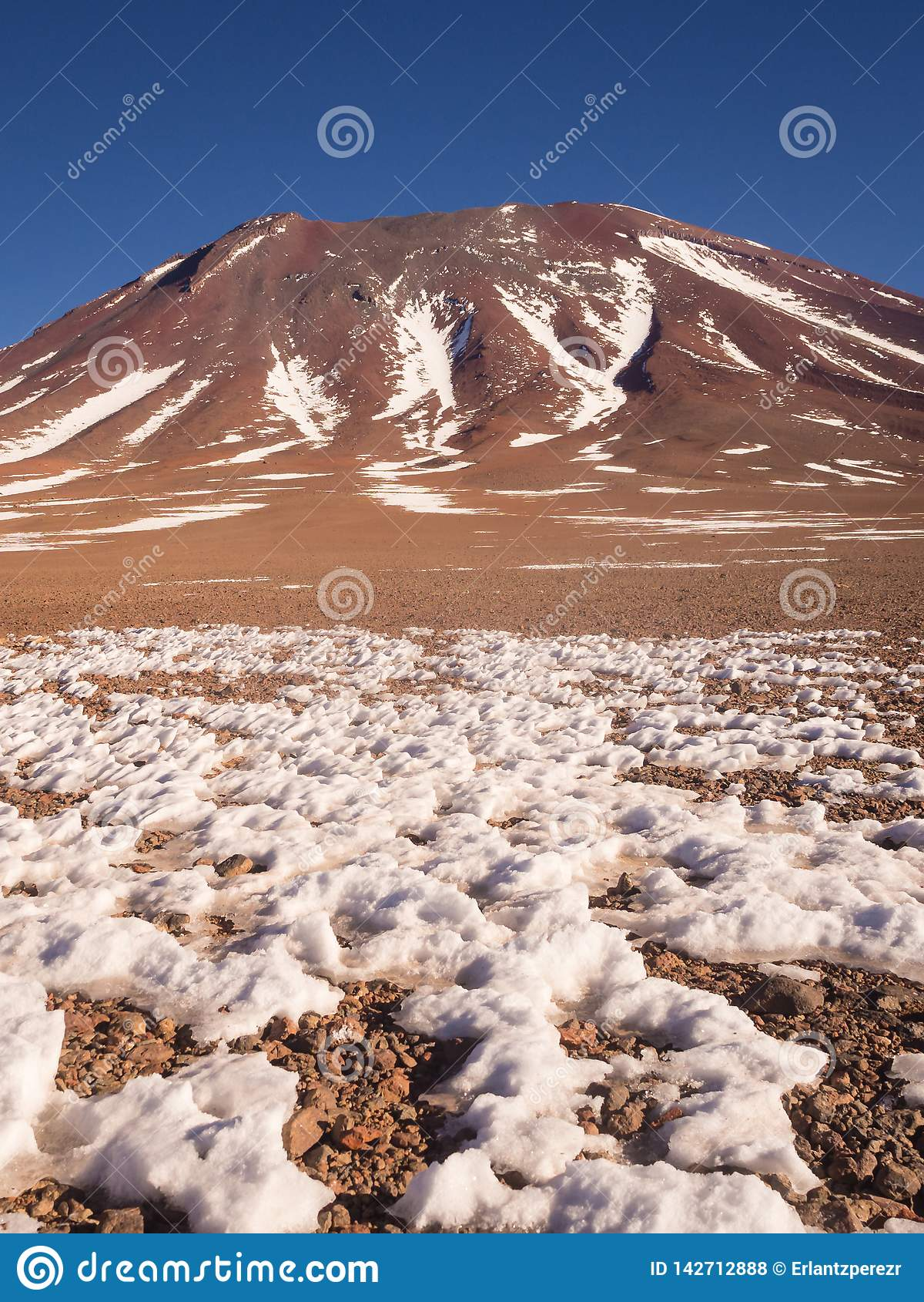 Vulcano di Juriques - riserva di Eduardo Avaroa Andean Fauna National, Bolivia