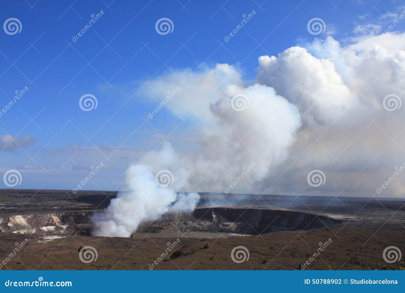 Vulcano di Kilaeua in Hawai