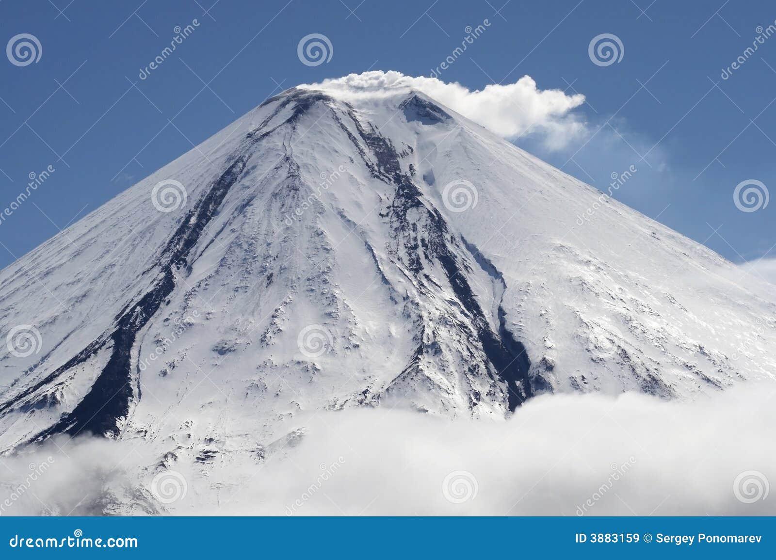 Vulcano di Kluchevskoy.