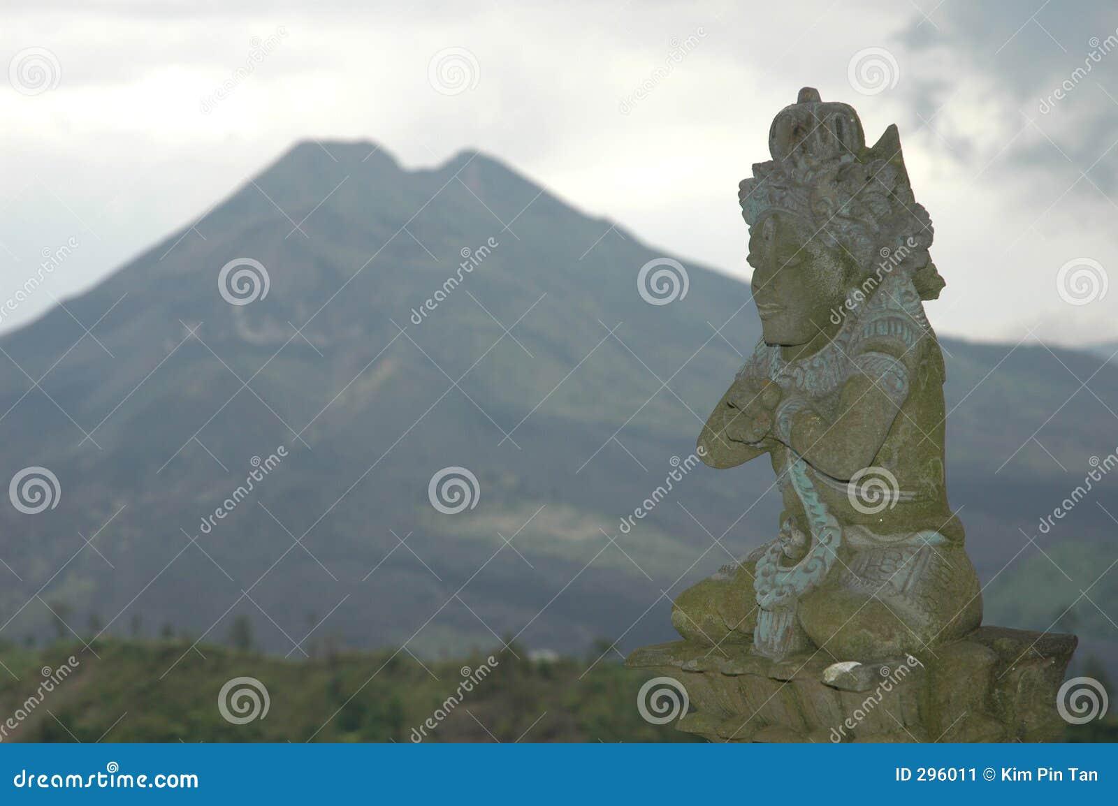 Vulkaan in Bali