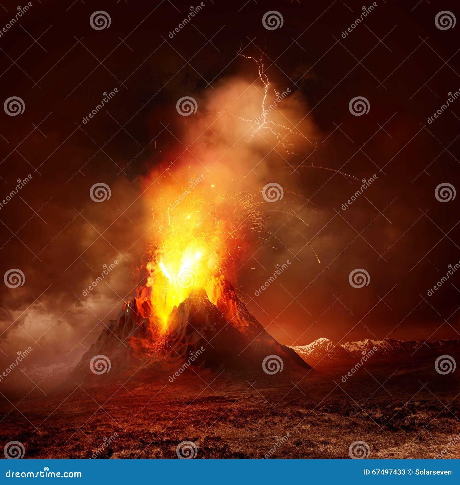 Vulkan för anakutbrottindonesia krakatau